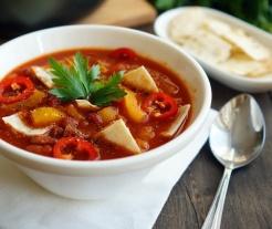 Мексиканский суп без мяса