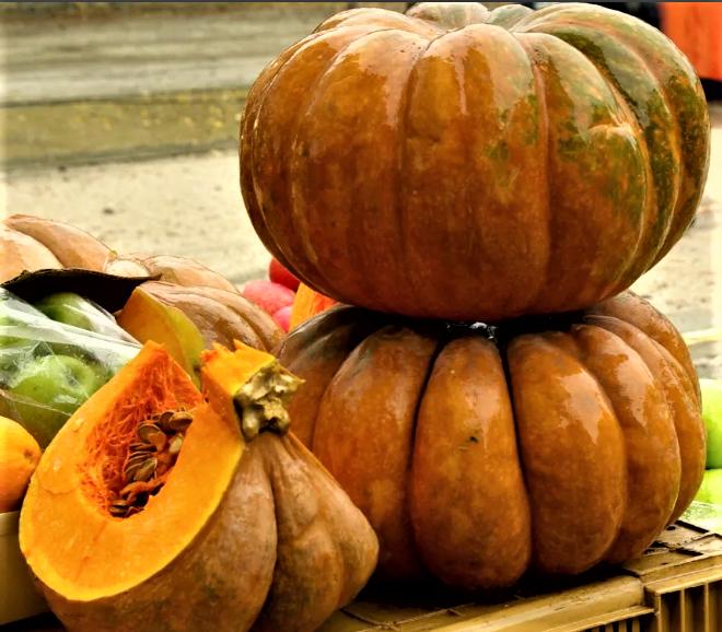 3 рецепта октября. Тыква. 3 recipes of October. Pumpkin.